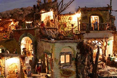Presepi tradizionali e viventi storia e immagini - Fai da te presepe casa ...