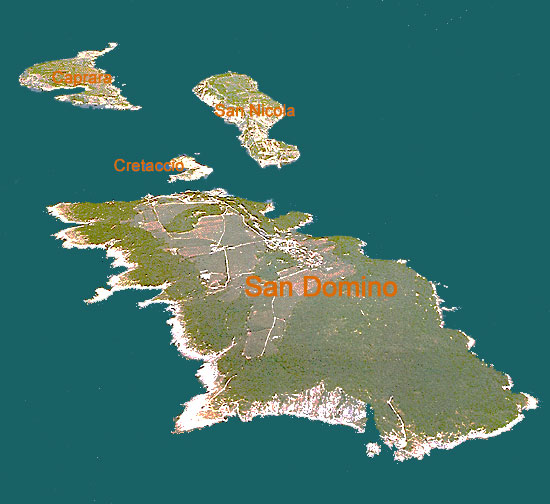 The archipelago of Tremiti Island