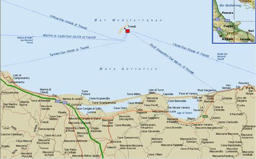 Cartina Geografica Delle Isole Tremiti.Traghetti Isole Tremiti Punti Di Imbarco Collegamenti Biglietti Orari E Prenotazioni Isole Tremiti