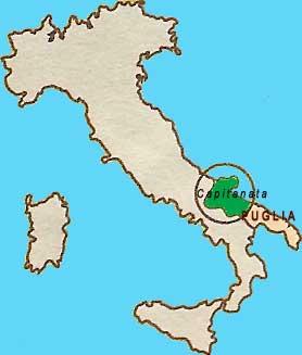 Capitanata - Daunia - Provincia  di Foggia