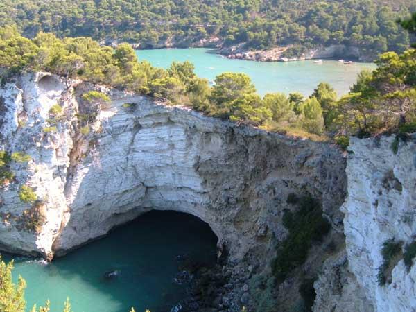 Gargano- Vieste - Grotta marina