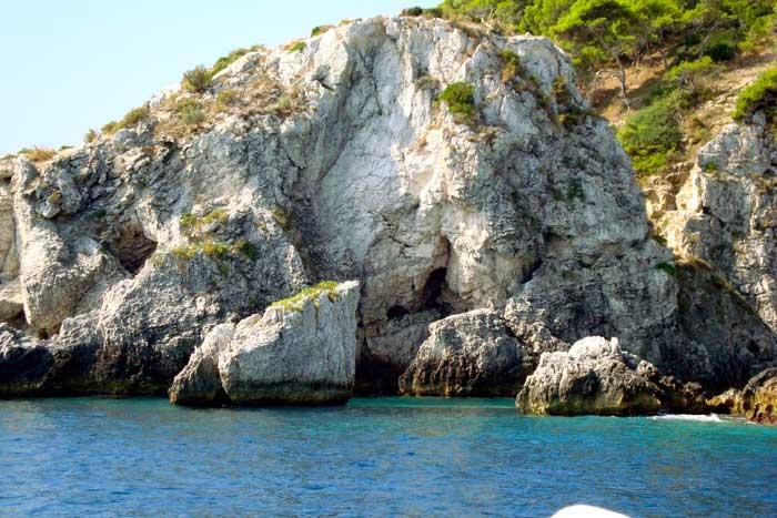 Gargano - Isole Tremiti - Scorcio Isola San Domino