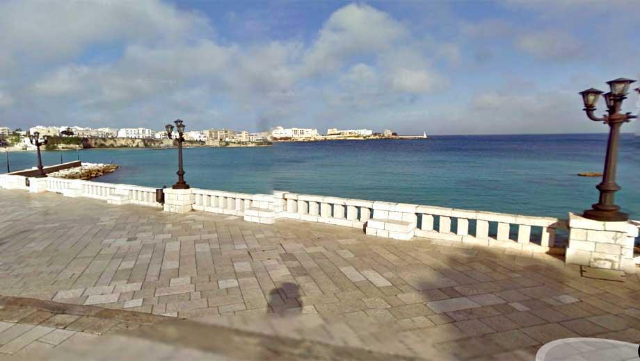 Veduta del porto di Otranto