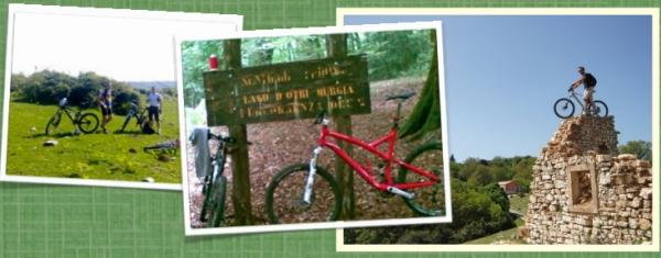 In bici sul Gargano