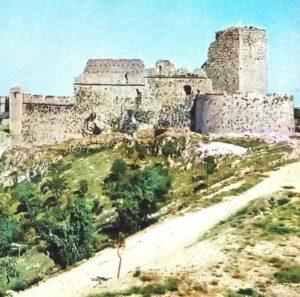 In giro troviamo i Ruderi del castello di Monte Sant' Angelo