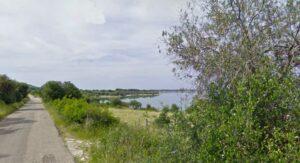 Il lago di Varano a Cagnano Varano