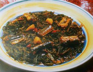 Lesina in tavola con minestra di anguille