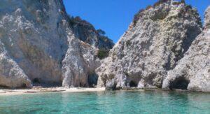 Spiaggia dei Pagliai alle isole Tremiti