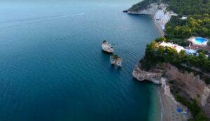 baie di Mattinatella e Vignanotica